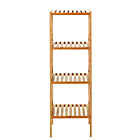more details on Collection Three Tier Bathroom Shelving Unit - Bamboo.