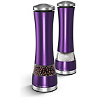 more details on Morphy Richards Electric Salt and Pepper Mills - Purple.