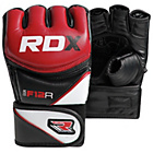 more details on RDX Synthetic Leather MMA Gloves Red - Medium/Large
