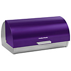 more details on Morphy Richards Accents Roll Top Bread Bin - Plum.