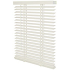 more details on Wooden Venetian Blind 100x175cm - Chalk White