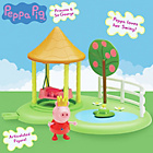 more details on Peppa Pig Peppa Princess Enchanting Garden Playset.