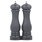 more details on Progress Set of 2 Acrylic Salt and Pepper Mills - Grey.