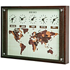more details on Seiko Wooden World Time Wall Clock.