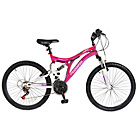 more details on Muddyfox Phoenix 24 inch Dual Suspension Bike - Girls