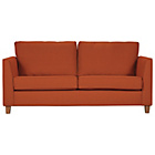 more details on Grace Large Velvet Sofa - Orange.