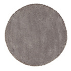 more details on ColourMatch Snuggle Shaggy Circle Rug - Cafe Mocha.