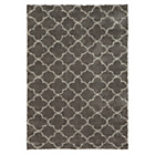 more details on Collection Noble Trellis Shaggy Rug - Grey.
