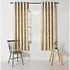 Heart of House Decadence Lined Eyelet Curtains - 117x183cm