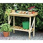 more details on Forest 3.5 ft Wooden Potting Garden Bench.