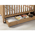 more details on Mamas & Papas Harrow Underbed Storage Unit - Dark Oak