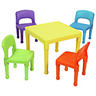 more details on Liberty House Multicoloured Nursery Table and 4 Chairs.