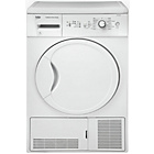 more details on Beko DCU7230W Condenser Tumble Dryer - White.