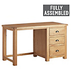 more details on Heart of House Kent Solid Wood Desk - Oak.