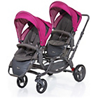more details on ABC Design Zoom Tandem Pushchair - Grape.