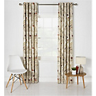 Heart of House Amber Floral Lined Eyelet Curtain - 228x228cm