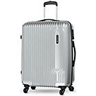 more details on Carlton Cube Small 4 Wheel Hard Suitcase - Silver.