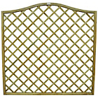 more details on Forest 1.8m Hamburg Open Lattice Fence Panel - Pack of 6.