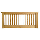 more details on Aubrey Small Double Headboard - Oak.