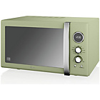 more details on Swan SM22080GN Combination Microwave - Green.