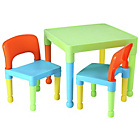 more details on Liberty House Multicoloured Nursery Table and 2 Chairs.