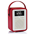 more details on VQ Retro Mini DAB Radio - Red.