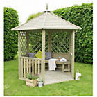 more details on Forest Wooden Burford Standard Gazebo.