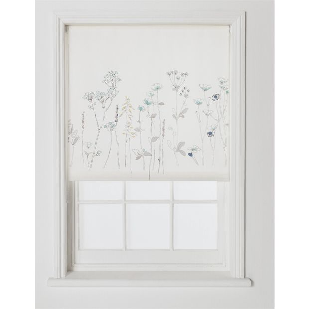 Buy Collection Watercolour Meadow Roller Blind 6ft At