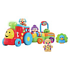 more details on Fisher-Price Laugh & Learn Puppy's Smart Stages Train.