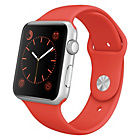 more details on Apple Watch Sport 42mm Silver Aluminium Case and Orange Band