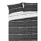more details on HOME Sticks Black and White Bedding Set - Double.
