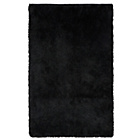more details on Collection Silky Shaggy Deep Pile Rug - Black.