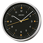 more details on Seiko Round Aluminium Clock with Black Dial.