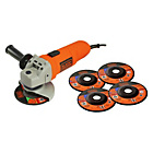 more details on Black & Decker Angle Grinder with 5 Discs - 750W.