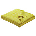 more details on Habitat Havil Throw 150 x 170cm - Saffron.
