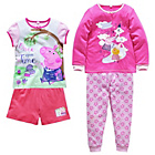 more details on Peppa Pig 2 Pack of Pyjamas - 3-4 Years.