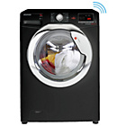 more details on Hoover DXOC68C3B 8KG 1600 Spin One Touch Washing Machine