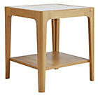 more details on Hygena End Table - Cream and Oak Effect.