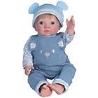 more details on Chad Valley Tiny Treasures Blue Dungarees Outfit.