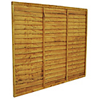 more details on Forest Garden 1.5m Fence Panel - Pack of 9.