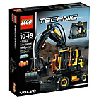 more details on LEGO Technic Volvo EW160E - 42053.