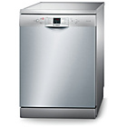 more details on Bosch SMS53MO8GB Full Size Dishwasher - Silver.
