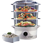 more details on Russell Hobbs 21141 Your Creations 3 Tier Steamer - White