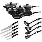 more details on Mr 6 Piece Pan Set with Tool Set - Black.