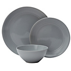 more details on Heart of House Bicester 12 Piece Dinner Set - Grey.