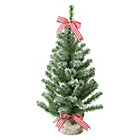 Table Top Snow Covered Christmas Tree - 2ft.