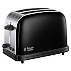 more details on Russell Hobbs 23331 Colours Plus 2 Slice Toaster - Black.