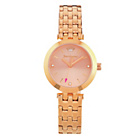 more details on Juicy Couture Ladies' Cali Rose Gold S.Steel Bracelet Watch.