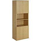more details on Hygena Modular 2 Door Tall Wall Cabinet - Oak.