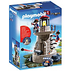 more details on Playmobil Soldier Tower Playset - 6680.